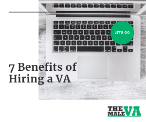 7 Benefits of hiring a virtual assisitant VA - Blog header image