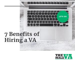 7 Benefits of hiring a virtual assisitant VA - Blog header image