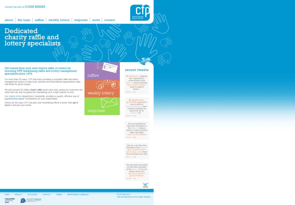 Original CFP Website
