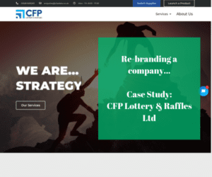 Re-branding a company... Case Study_ CFP Lottery & Raffles Ltd
